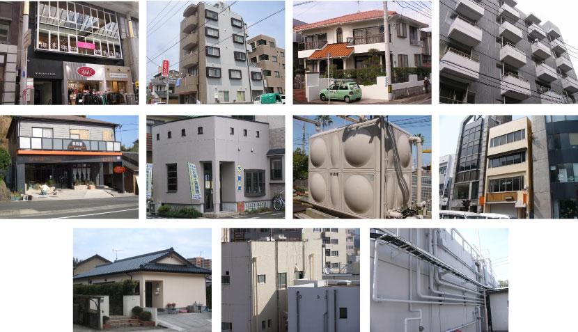 熊本で住宅を塗装するなら『塗職®熊本』塗装、防水専門 実績紹介